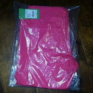 Lilly Pulitzer worth skinny pink pomegranate pants